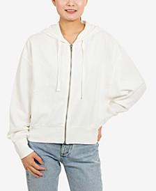 Juniors' Zip-Front Hoodie Sweatshirt