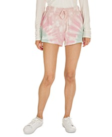 Juniors' Tie-Dye Sweat Shorts