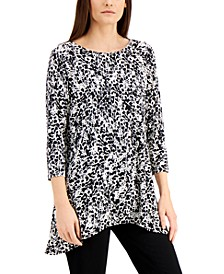 Abstract-Print Swing Top, Created for Macy's