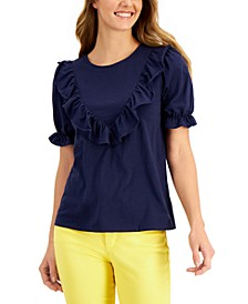 Cotton Ruffled Top, Created for Macy's