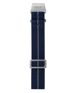Men's Paratrooper Navy Blue Nylon Strap