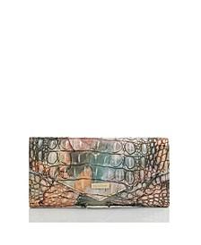 Leather Veronica Gemstone Melbourne Envelope Wallet