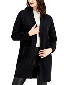 Open Front Patch Pocket Cardigan, Created for Macy's