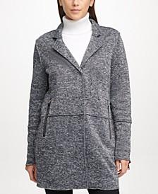 Oversized Knit Jacket