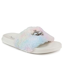 Women's Windy Faux Fur Sandal Slide