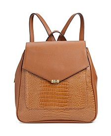 Embossed Tessa Backpack