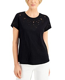 Eyelet-Embroidered Top, Created for Macy's
