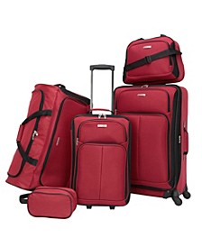 Ridgefield 5 Pc. Softside Luggage Set, Created for Macy's