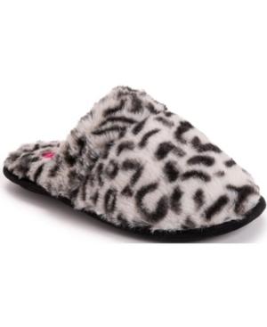 Women's Leopard Scuff Slippers