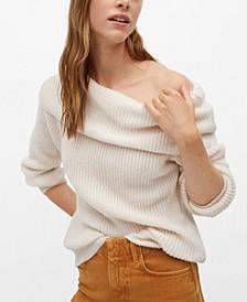 Women's Boat Neck Knit Sweater