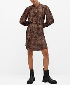Women's Animal Print Dress