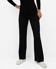 Women's High-Waist Ponte Pants