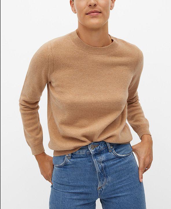 MANGO Women's Cashmere Sweater