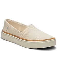 Women's Textural Woven Parker Slip-On Sneakers