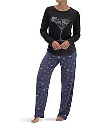 Women's Merry Cocktail Pajama Set