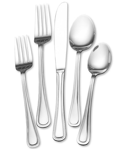 Towle Everyday Edgebrook 82 Pc Flatware Set, Service for 16