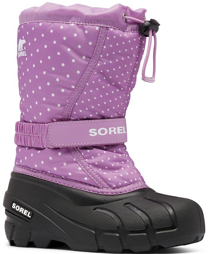 Sorel - Children's Flurry Print Boots
