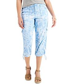 Mix-Print Capri Pants, Created for Macy's