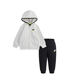Baby Boys Micro Swoosh Fleece Set
