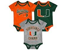 Miami Hurricanes Newborn Champ Set
