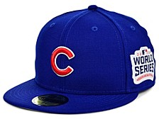 Chicago Cubs World Series Patch 59FIFTY Cap