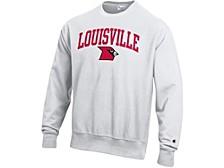 Louisville Cardinals Men's Vault Reverse Weave Sweatshirt