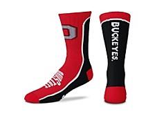 Men's Ohio State Buckeyes V-Curve 2.0 Socks