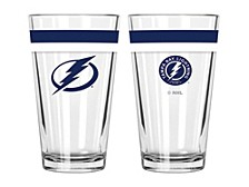 Tampa Bay Lightning 16-oz. Double-Banded Pint Glass