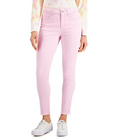 Petite High-Rise Ankle Jeans, Created for Macy's