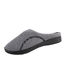 Isotoner Women's Athena Jersey Knit Hoodback Slippers