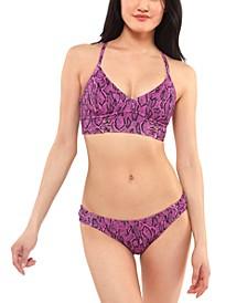 Snakecharmer Cami Bikini Top & Hipster Bikini Bottoms