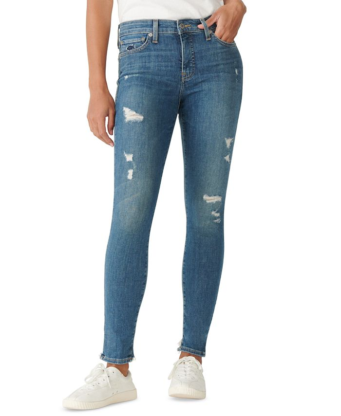 Lucky Brand - Ava Distressed Super Skinny Jeans