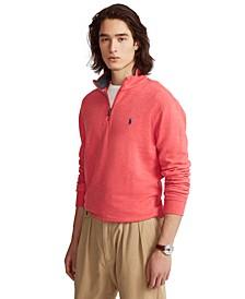 Men's Jersey Quarter-Zip Pullover