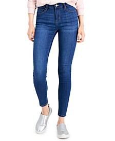 Juniors' Mid Rise Skinny Jeans