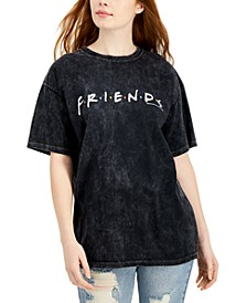 Women's Cotton Friends Graphic-Print T-Shirt