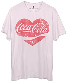 Women's Cotton Coca-Cola Heart T-Shirt