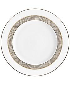 Gilded Weave Platinum Salad Plate
