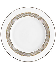 Vera Wang Wedgwood Gilded Weave Platinum Salad Plate