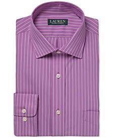 Men's Ultraflex Regular-Fit Non-Iron Performance Stretch Stripe Dress Shirt