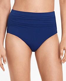Beach Club High-Waist Tummy-Control Bikini Bottoms
