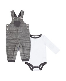 Boys 2 Piece Overall Set