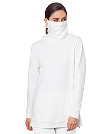 Side-Zip Hoodie with Removable Mask, Created for Macy's