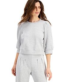 INC Volume-Sleeve Sweatshirt, Created for Macy's
