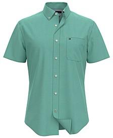 Men's Wainwright Custom-Fit Short-Sleeve Shirt