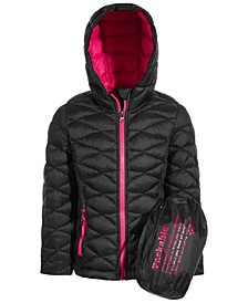 Little Girls Glacier Shield Packable Jacket