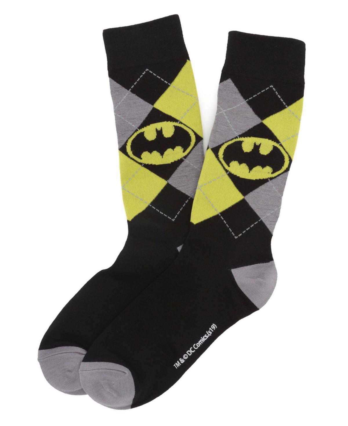 Men's Batman Argyle Classic Sock
