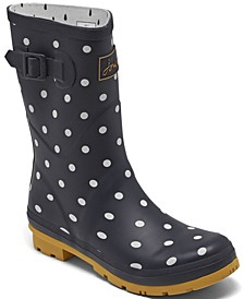 Women's Molly Mid Height Rain Boots from Finish Line