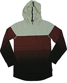 Big Boys Process Striped Jersey Pullover Hoody