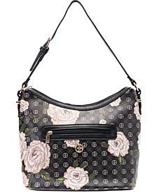 Floral Signature Hobo, Created for Macy's