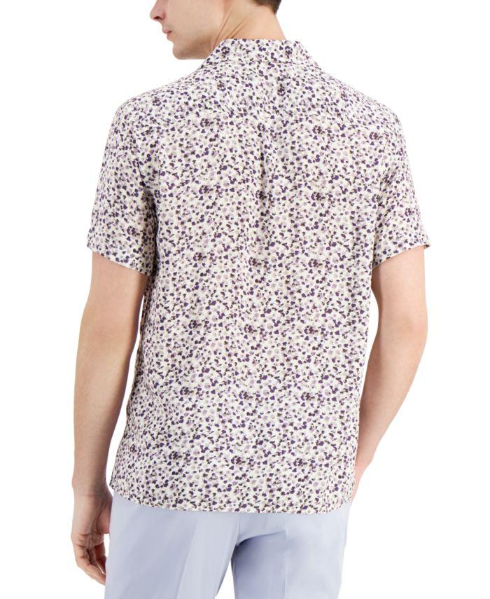 INC International Concepts INC Men's Tropical Print  Camp Shirt, Created for Macy's  & Reviews - Casual Button-Down Shirts - Men - Macy's